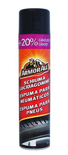 Armor All 47600SPI Espuma Limpia NEUMATICOS 600ML, Negro, 60