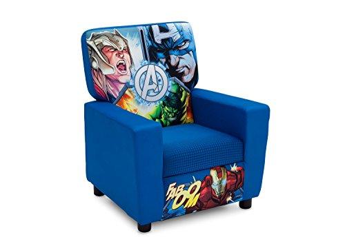 Delta Children High Back Upholstered Chair, Marvel Avengers