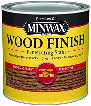 Minwax 22150 1 2 trust Pint Red Stain Interior Finish Oak Wood Sales of SALE items from new works
