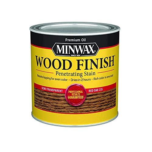 Minwax 22150 1/2 Pint Red Oak Wood Finish Interior...