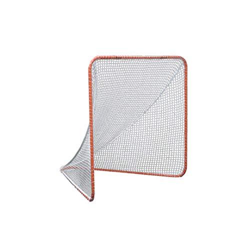 Gladiator Lacrosse Official Lacrosse Goal Net, Orange, 100% Steel Frame, 6 x 6-Foot, Standard