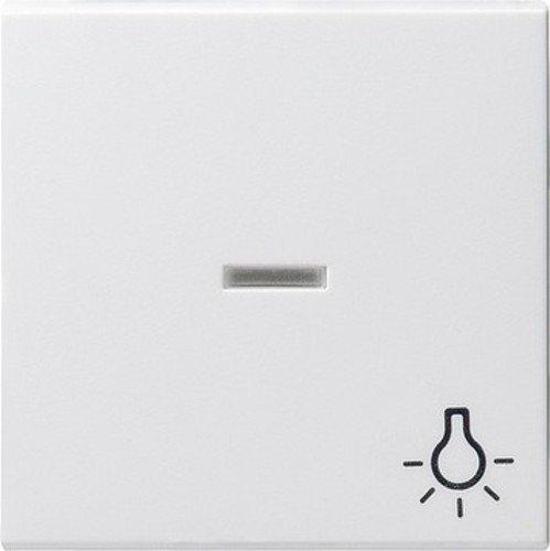 Gira 067403 Wippe Kontroll Symbol Licht System 55, reinweiß