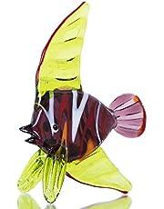 crystalsuncatcher Kunst glas Mini Zee dier beeldje