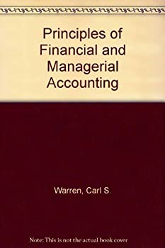Hardcover Principles of Financial and Managerial Accounting Book