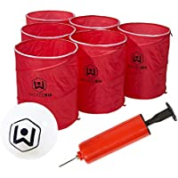 Wicked Big Sports Supersized Pong Outdoor/Indoor Sport Tailgate Games