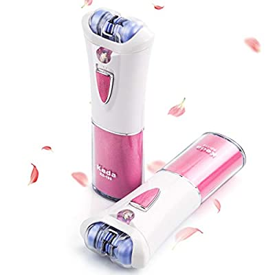 Epilator, Facial Hair Remover & Body Hair Removal, Electric Lady Shaver with Light, Cordless Bikini Trimmer from ULTPEAK