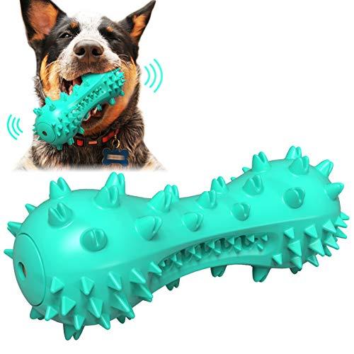 犬 音の出るおもちゃ 犬 噛むおもちゃ いぬ 歯ブラシ 玩具 Caseeto 犬 発声おもちゃ 投げおもちゃ ペット 安全食品クラス素材 頑丈 耐用 洗える 歯ブラシ 歯磨き (ミントグリーン)