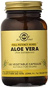 Solgar Aloe Vera - 100 Cápsulas (3738)
