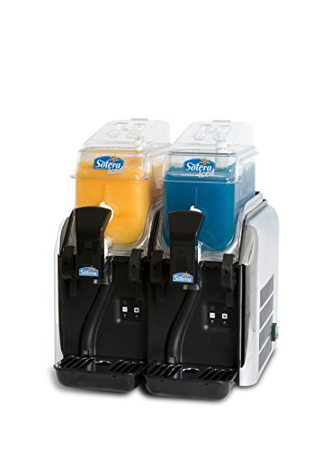 Solera Granizadora ICED 2, digital, 2 depósitoS para hacer 12 Litros de granizados, cócteles y sorbetes. Productos de regalo 2 Brik (5 litros de granizado/cóctel o 3 de sorbete). 1 Dispensador de cañas (100 ud)