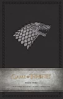 Game of Thrones( House Stark Hardcover Ruled Journal)[JOURNAL-GAME OF THRONES-STARK][Imitation Leather]