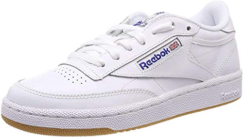 Reebok Club C 85, Deman Niedrig, Weiß (Int / White / Royal / Gum), 36 EU