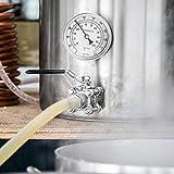 Selbstgemachtes Bierthermometer Hausgemachte Bierausrüstung Silikon in Lebensmittelqualität