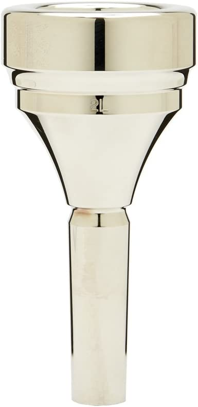 Denis Limited time cheap sale Wick DW5286-2L Silver Tuba Classic Mouthpiece Limited time sale