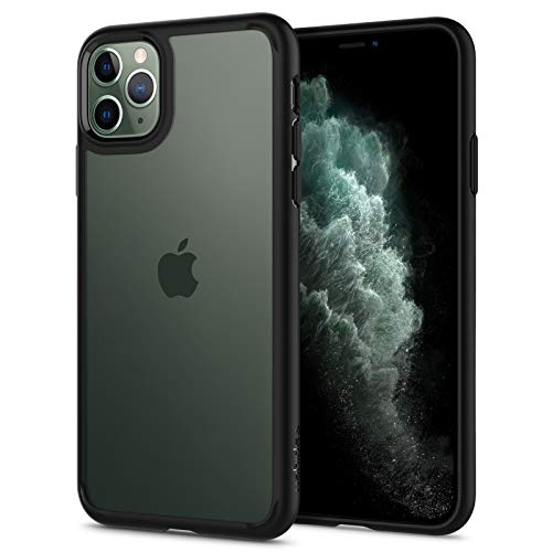 Spigen Ultra Hybrid Compatible con iPhone 11 Pro MAX - Negro