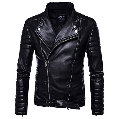 Heren Zwarte Outdoor Motorbike Lederen Jas Mannen Herfst Winter Racing Biker Jas Motorfiets Bomber Top Plus Size Waterdicht