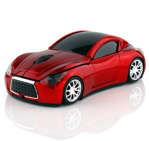 Klein Design FTD-MS127 Auto Style optische Maus/Mouse schnurlos/Wireless rot