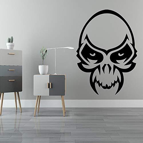 mlpnko Kreative menschliche Knochen Hauptdekoration Kinderzimmer Acryldekoration Hauptdekoration28X39cm