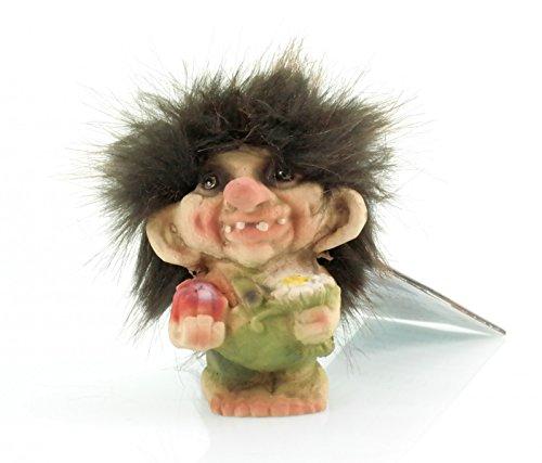 NyForm Troll Junge mit Geschenk Norwegen Souvenir Figur Fabelwesem
