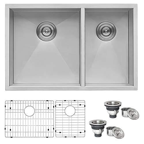 Ruvati Rvh7200 Undermount Stainless Steel 29 Kitchen Sink Double Bowl