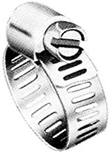 """Precision Brand M6S Micro Seal, Miniature All Stainless Worm Gear Hose Clamp, 5/16"""" - 7/8"""" (Pack of 10)"""