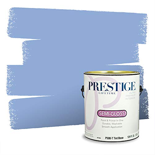 Prestige Paints P500-T-4005-10AVP Paint and Primer In One, Simply Periwinkle, 1 gallon