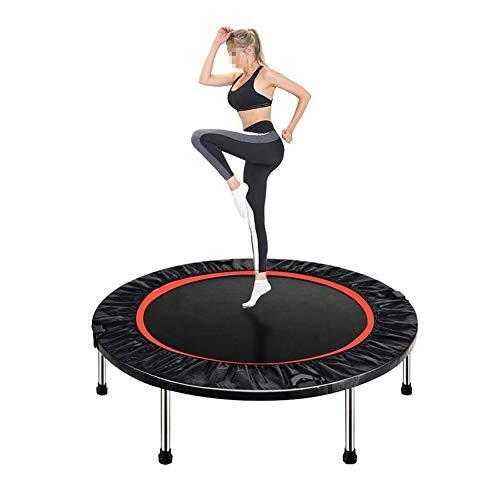 JXJJD Portable Foldable Fitness Workout Mini Rebounder Trampoline, for Indoor Garden Workout Cardio Exercise for Indoor/Garden/Workout 40 Inch Max Load 330lbs