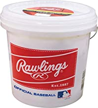 Rawlings Official League Recreational Grade OLB3/R8U Baseballs, Bucket of 24 Balls, OLB3BUCK24