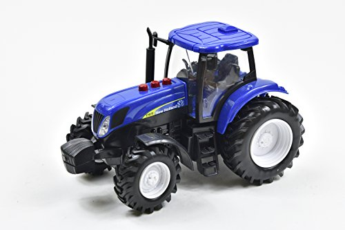 New Ray - 1953 - Véhicule Miniature - Tracteur New Holland - Echelle 1/24