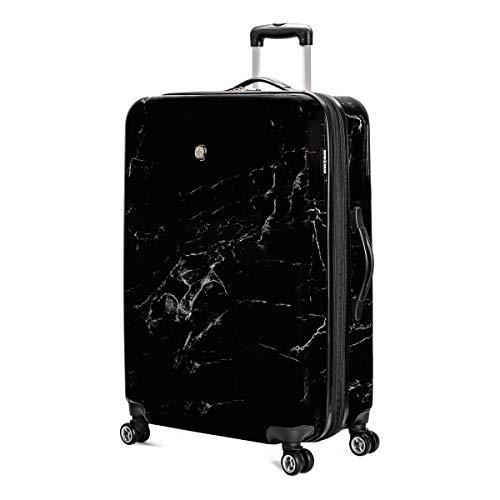 SWISSGEAR 7579 Expandable Hardside Luggage, 28-Inches - Black Marble