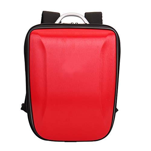 DEtrade Fashion Hardshell-Tasche Harte Schale Tragetasche Rucksack Tasche Wasserdicht Anti-Shock Kompatibel mit DJI Mavic Mini (Red)