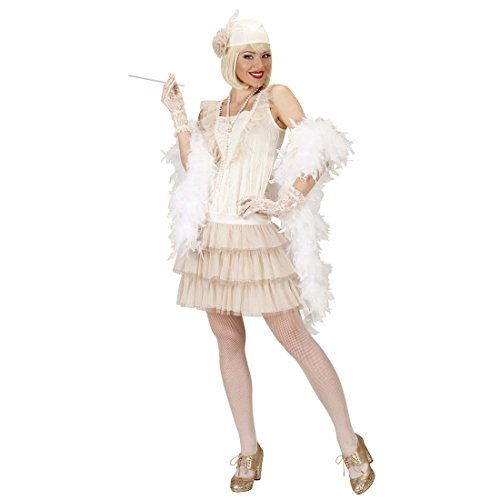 Disfraz de Charleston 20er años vestido Charleston vestido blanco 30 años accesorios para disfraz de mujer vestido de trampa 20S disfraces de carnaval de para mujer