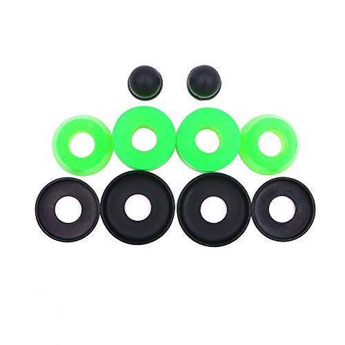 POFET Skateboard-/LKW-Umbau-Set, Buchsen, Unterlegscheiben, Drehscheiben, Stoßdämpfern, Polyurethan-Halterung, 1 Set optionale Farbe