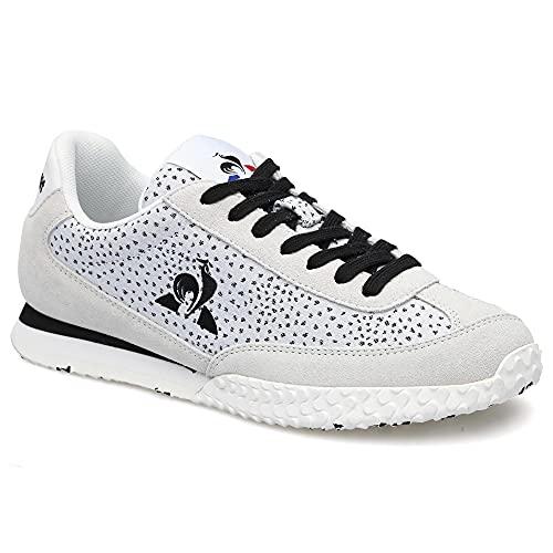 Le Coq Sportif Veloce W Dots, Zapatillas de Running Mujer, White, 41 EU