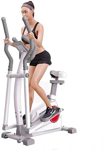 Cross Trainer Machine Trainer - Aparato de entrenamiento elíptico para uso doméstico, máquina de accionamiento suave y silenciosa para uso doméstico