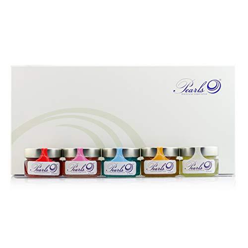 Deluxe Box (60 perlas). Degustación Molecular Experience. Esferificaciones Premium listas para consumir. Productos Gourmet 2.0.