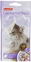 Beaphar Calming Cat Treats are a delicious meaty treat, formulated to reduce anxiety in cats during stressful times Cats can be especially sensitive to changes in their environment which can lead to problem behaviour and health complications. They co...