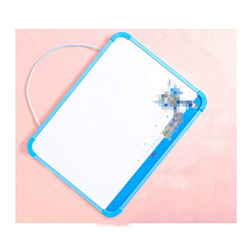 LTCTL Drawing Board Children's Magnetic Drawing Board, Portable Hanging Graffiti Drawing Board,message,Office,Family Education Writing Toys (Color : Blue+11 piece set)