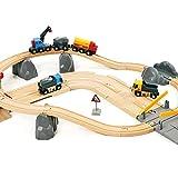 Brio 33210 - Circuito de carreterar para coches y locomotaras de juguete [Importado de...