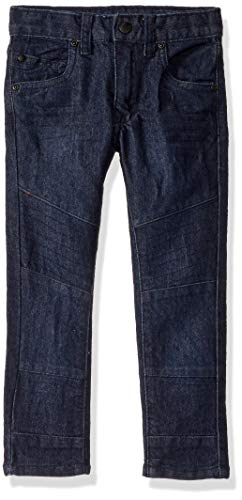 DKNY Boys' Little Denim Jean (More Styles Available), B Mojito Blue Black, 6