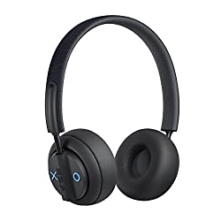 BLUETOOTH COMPATIBLE: Be free from wires that keep you connected to your smart device. The Out There on-ear headphones are Bluetooth compatible and allow you to roam within a 15-metre range of your connected device ACTIVE-NOISE CANCELLING: Block the ...