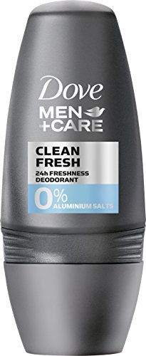 Dove MEN+CARE Deo Roll-On Clean Fresh ohne Aluminium, 50 ml