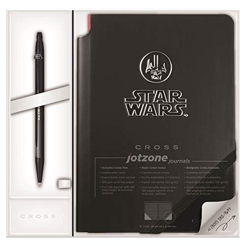 Cross AT0625SD-17/1 - Bolígrafo y cuaderno, diseño Star Wars