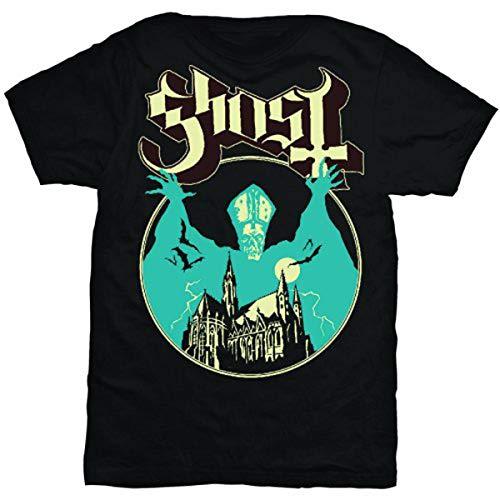 Rock Off - T-shirt Homme Ghost Opus - Noir (Black) - X-Large