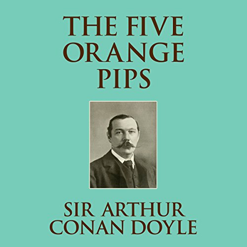 The Five Orange Pips audiobook cover art