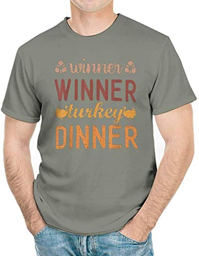 Winner Winner Turkey Dinner T-Shirt Funny Thanksgiving Gifts tee