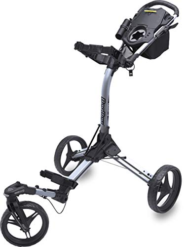 Bag Boy Triswivel II Push Cart Black/Silver