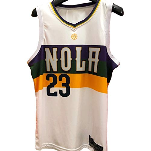 Anthony Davis #23, New Orleans Pelicans, Basketball Suit, Unisex Mouwloos T-Shirt Nba Swingman Jersey City Version