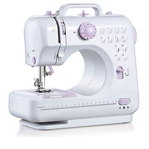 GZH Elektrische naaimachine, 50 A, multifunctionele elektrische naaimachine, voor huishoudelijk gebruik, mini-naaimachine, vouwmachine