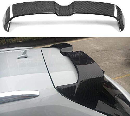 BLH-AMY Alerón Trasero De Coche Negro para Audi S3 Rs3 A3 Typ 8V 4 Puertas 2014-2018 ala De Tapa De Maletero, Labio De Extensión De Techo Modificado De Fibra De Carbono Universal