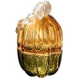 KGDC Escultura Ornamentos El Color del Vidrio Calabaza Coleccionable estatuilla del Arte del Regalo de Calabaza Mirada de Cristal de Mesa decoración de Halloween Decorativo Decoración del Escritorio